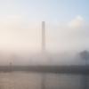 Le port de Tallinn dans sa brume matinale
